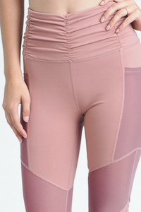 Gym, Tan, Laundry Workout Pants (Blush)