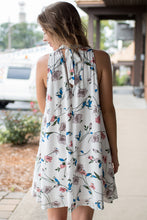 Load image into Gallery viewer, Floral Up Dress (Ivory)