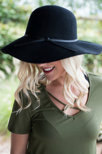 Going Incognito Hat (Black)