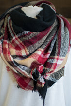 Load image into Gallery viewer, There She Is Blanket Scarf