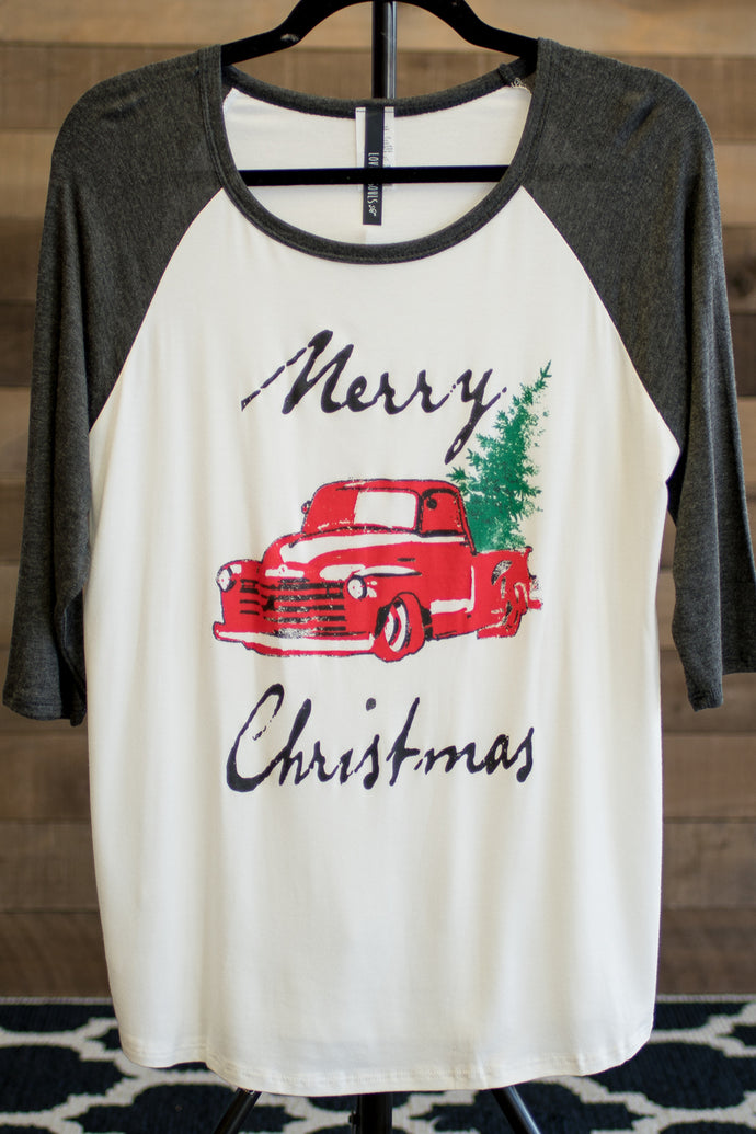 Magical Christmas Tree Ride Tee (Curvy)