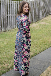 Floral Fantasy Maxi Dress