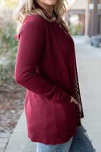 Load image into Gallery viewer, Everyday Wear Cardi (Burgundy)