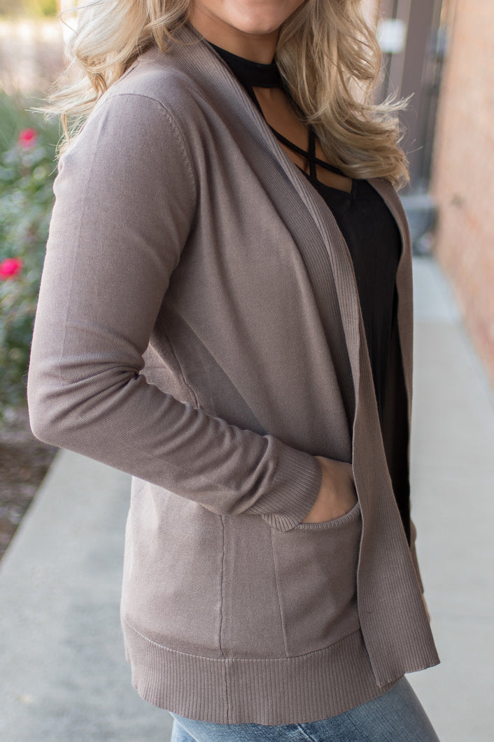 Every Girls Dream Cardi (Mocha)