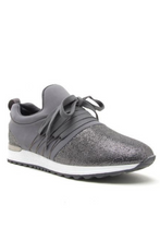 Load image into Gallery viewer, Pick Up the Pace Sneakers (Grey)