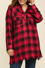 Load image into Gallery viewer, Bonfire Material Tunic (Red)