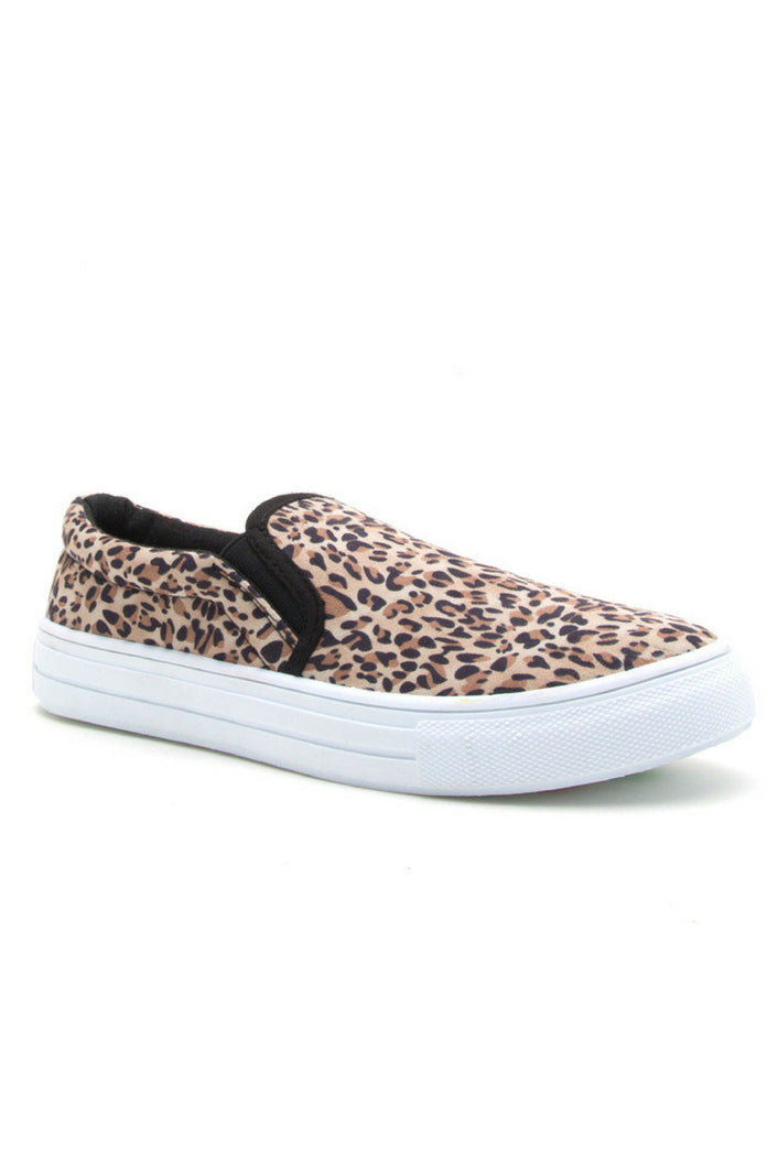 Spotted Slip On Sneakers
