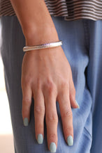 Load image into Gallery viewer, The Simple Life Bracelet (Silver)