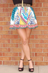 Caribbean Islands Skirt