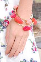 Load image into Gallery viewer, Coral Kisses Bracelet