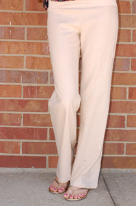 Lively Linen Pants (Khaki)