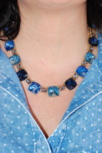 Borrowed and Blue Necklace