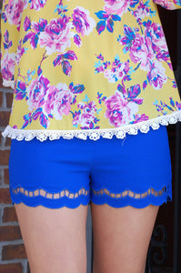Scalloped Sensation (Royal)