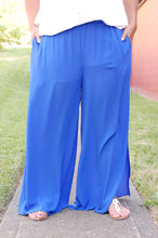Load image into Gallery viewer, Blue Hued Bliss Pants (Royal)