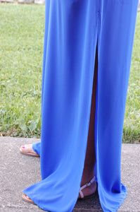 Blue Hued Bliss Pants (Royal)