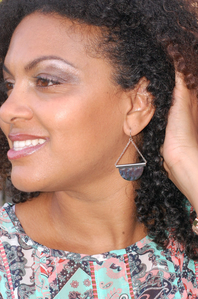 Hanging in the Balance Earrings (Silver)