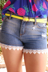 Picking Daisies Shorts