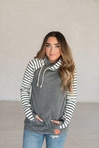 DoubleHood Ampersand Ave™ Sweatshirt - In the Hamptons (Curvy)