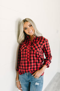 Ampersand Ave™ Plaid (Buffalo Red)