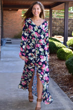 Load image into Gallery viewer, Floral Fantasy Maxi Dress