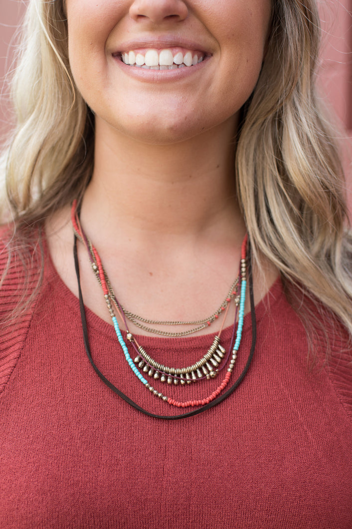 Stunning Strands Necklace