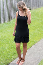 Load image into Gallery viewer, In Love and Lace Dress Extender (Black)