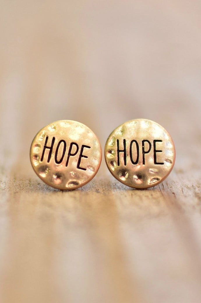 Feeling Hopeful Earrings (Gold)