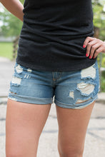 Load image into Gallery viewer, No Rules Denim Shorts - (Medium Wash)