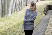 Load image into Gallery viewer, Easily Loved Tunic (Ash Grey)