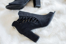 Load image into Gallery viewer, Best Foot Forward Booties (Black)