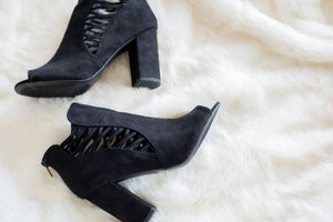 Best Foot Forward Booties (Black)