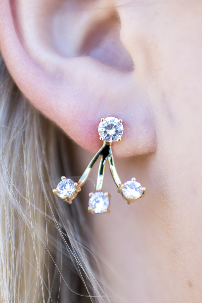 Next Level Earrings (Gold)