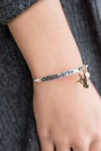 Load image into Gallery viewer, Just Breathe Bracelet (Silver)