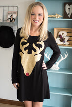 Load image into Gallery viewer, Sleigh Day Tunic Dress