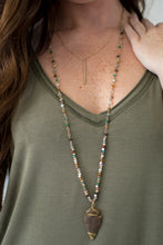 Load image into Gallery viewer, Straight & Arrow Necklace