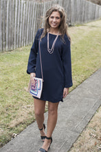 Load image into Gallery viewer, Anything Goes Dress (Navy)
