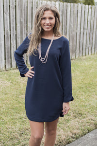 Anything Goes Dress (Navy)