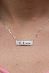 Be Brave Necklace (Silver)