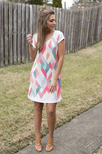Be My Sweet Thing Dress (Pastels)