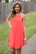 Load image into Gallery viewer, Twist and Shout Dress (Orange)