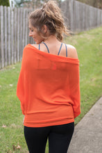 Load image into Gallery viewer, Meet Me at the Gym Top (Orange)