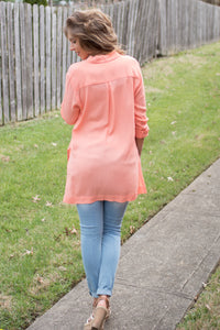 Nothing Compares Blouse (Peach)