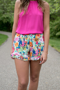 Exotic Escape Shorts