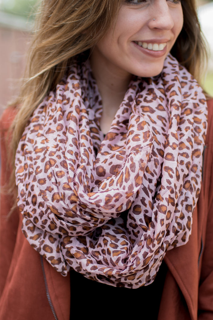 Fierce and Fabulous Scarf (Pink)