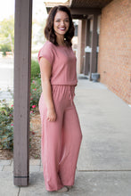 Load image into Gallery viewer, Take a Stroll Jumpsuit (Mauve)