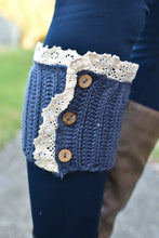 Load image into Gallery viewer, Short Stuff Boot Cuffs (Blue)