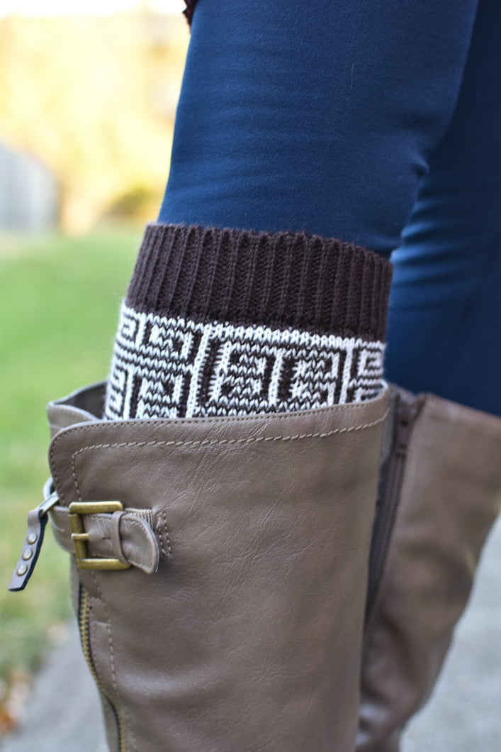 Prints Charming Boot Cuff