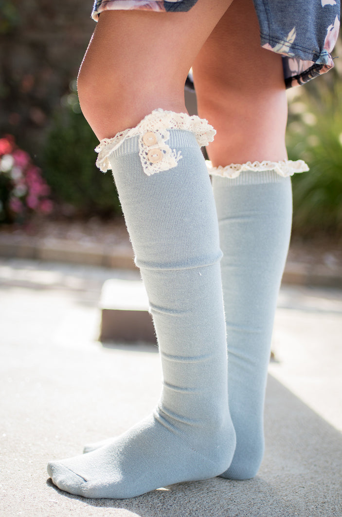 Show and Tell Boot Socks (Grey)
