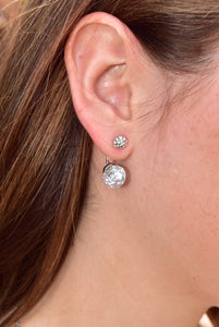 Instant Shine Earrings (Silver)