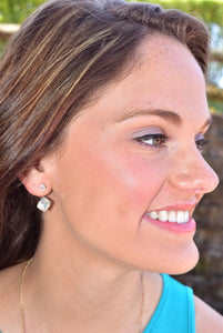 Clear as Day Earrings
